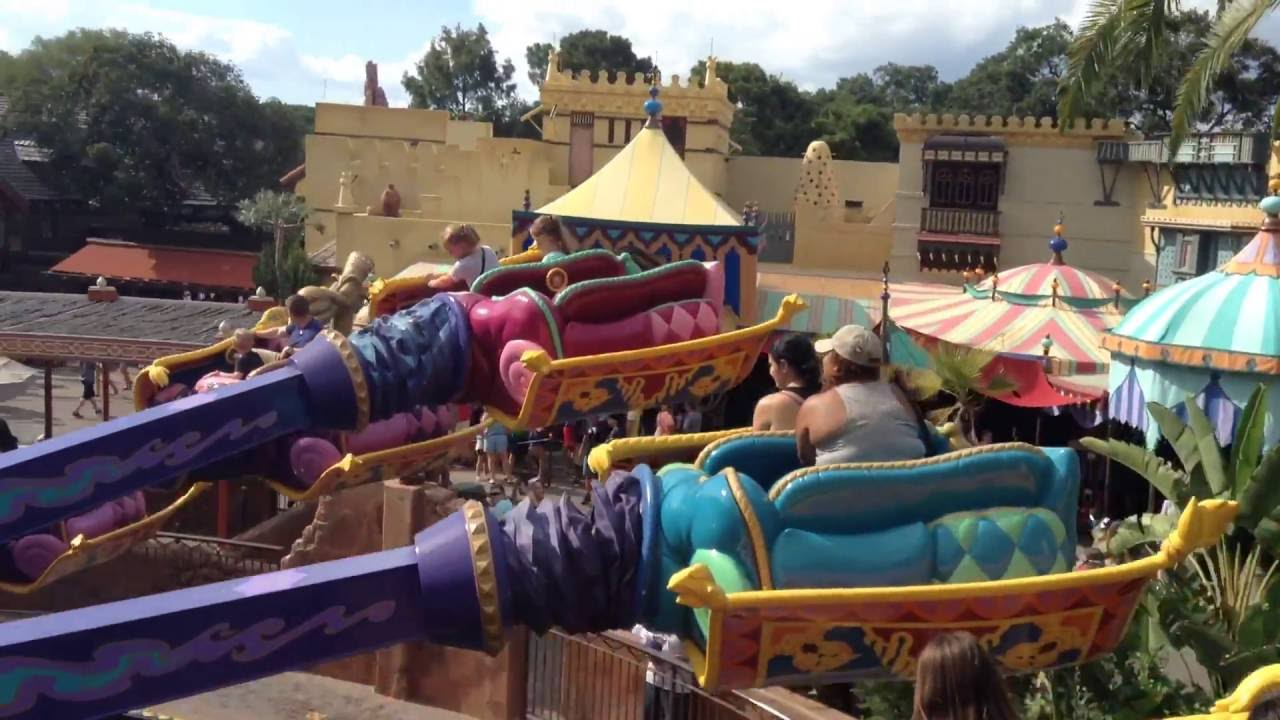 Rides for Kids in Disney World Magic Kingdom / Inside ...