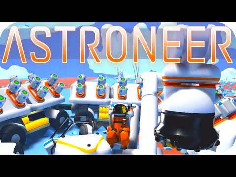 Astroneer Gameplay: MAX SEDIMENT SNAKE TRUCK ▶EXCAVATION UPD