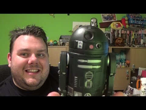Star Wars Rogue One Elite Series C2-B5 Die-Cast Action Figure Unboxing Review