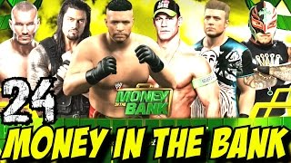WWE 2K15 Türkçe oynanış | Money in the Bank | 24.Bölüm | Universe | Ps4
