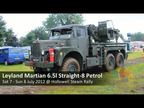 Leyland Martian 6x6 6.5 litre Straight-8 Petrol Military Recovery Vehicle
