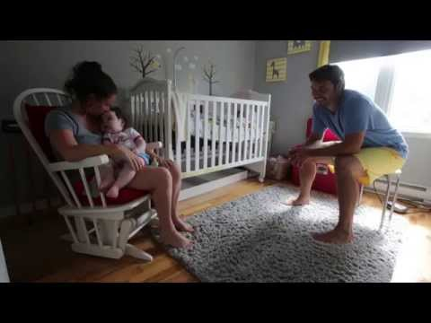 Parents' experience caring for baby with rare, deadly, genetic disease