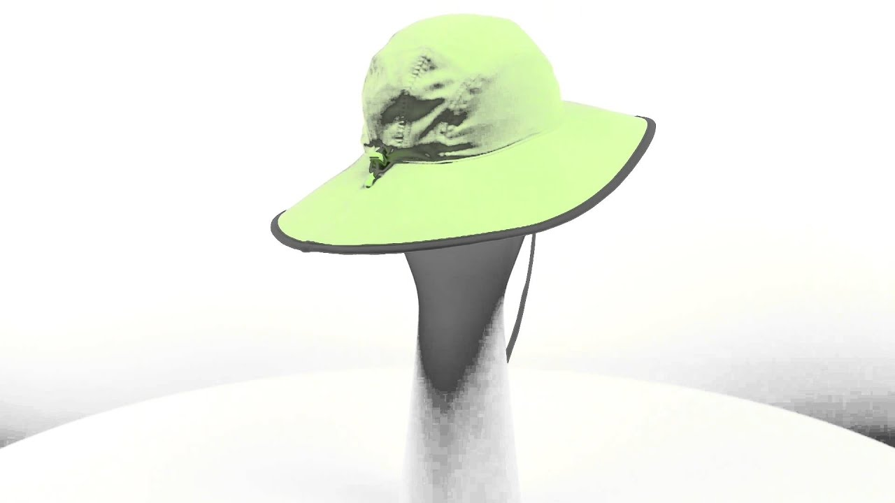 Outdoor Research Oasis Sombrero Sun Hat - UPF 50 (For Women) - YouTube 411c5a3d69