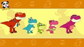 Baixar Baby Panda Cares for Baby Dinosaur   Dinosaur Songs   Nursery Rhymes   Kids Songs   BabyBus
