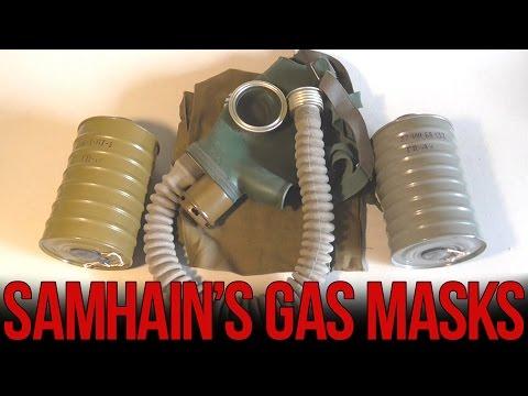 Обзор противогаза ГП-4У    Soviet GP-4u gas mask