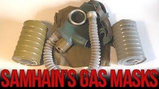 Обзор противогаза ГП-4У  | Soviet GP-4u gas mask(Обзор противогаза ГП-4У - одного из самых распространённых гражданских противогазов Советского союза. ..., 2015-10-03T16:11:01.000Z)