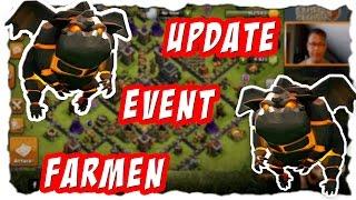 UPDATE FARM EVENT - ODER WARTEN? | Clash of Clans | Let´s Play COC | [German Deutsch]