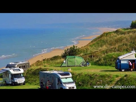 Reisebericht Camping Omaha Beach (Frankreich) September 2014