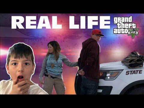Kid Temper Tantrum Witness A Real Life Police Chase - 5 Arrested [ Original ]