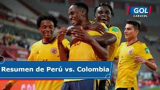 Perú vs Colombia (0 - 3): resumen del partido – Eliminatorias Sudamericanas
