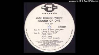 Victor Simonelli Presents Sound Of One~I Know A Place [Original Vocal Mix]