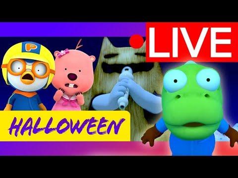 Pororo Halloween   Happy Halloween!   Kids Halloween Story   Kids Halloween Song