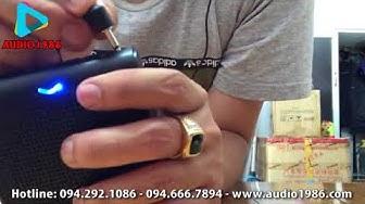 Máy trợ giảng Rolton K100 mic có dây giá rẻ loa đeo người cho giáo viên, hướng dẫn viên