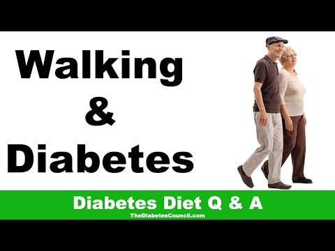 Is Walking Good For Diabetes?