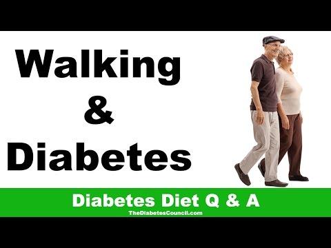 Is Walking Good For Diabetes?