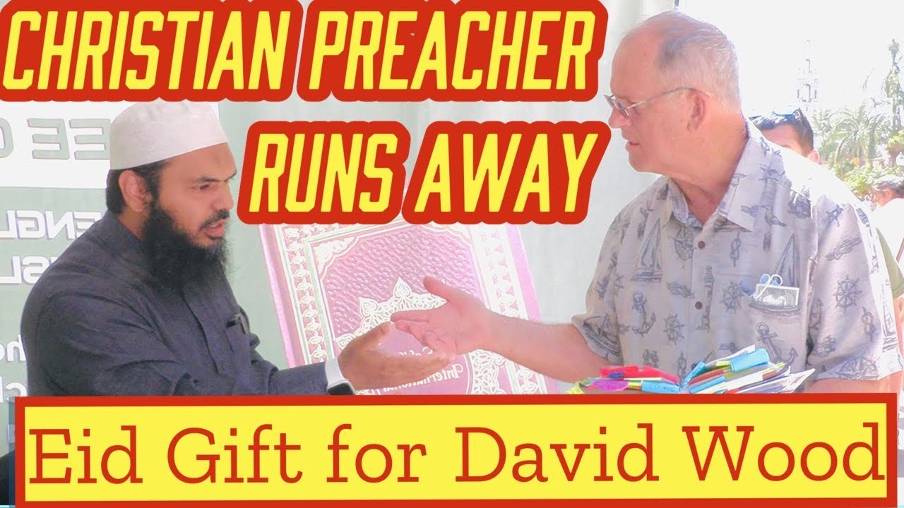 Christian Preacher Runs Away with Special Eid Gift for Hammer Time