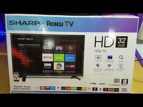 "Sharp 32"" SMART TV LC-32LB591U BESTBUY REVIEW"
