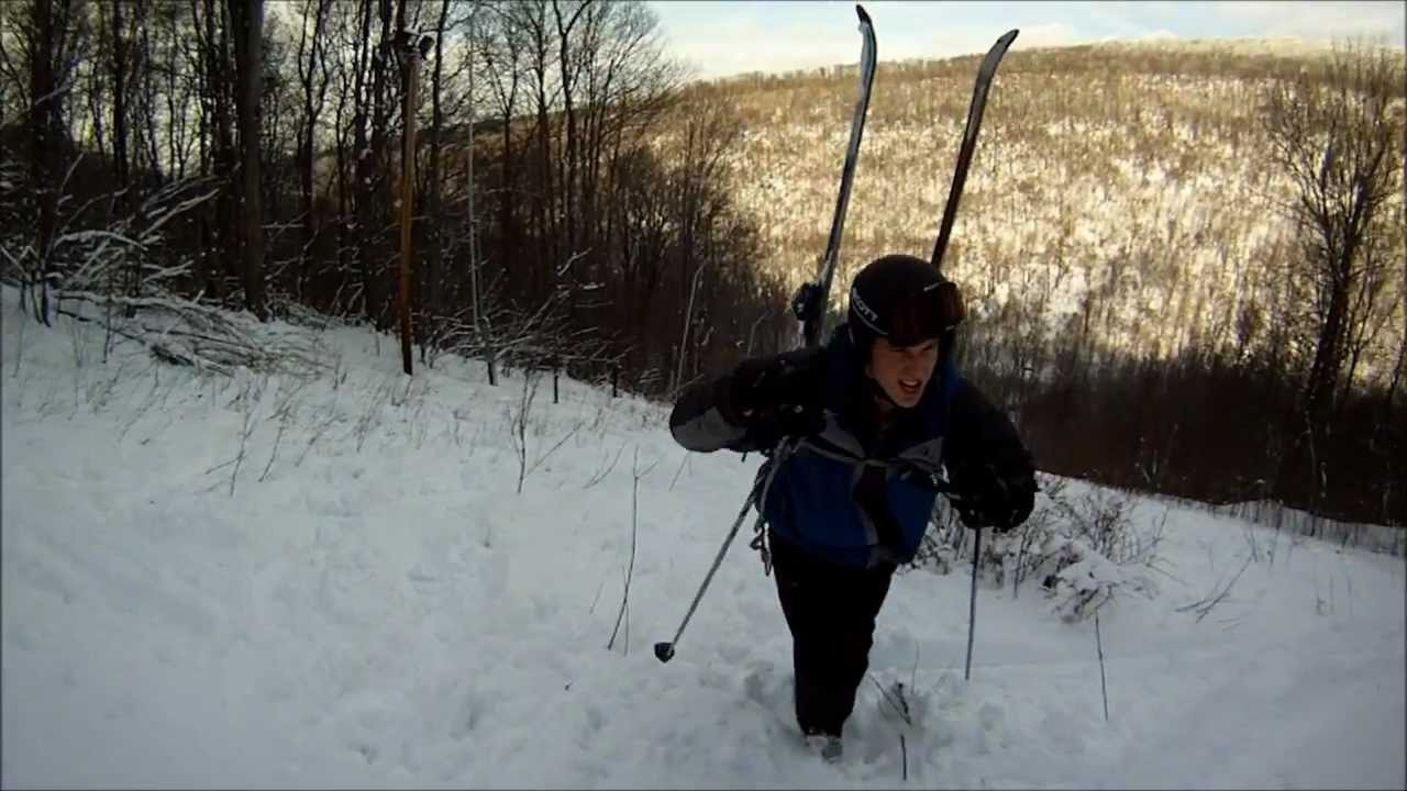 expedition: ski laurel mountain - youtube