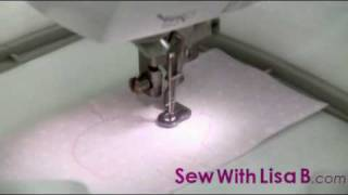 How to Embroider an Applique Design by Sew With Lisa B