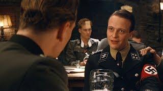 """Это щелчок моего вальтера, он нацелен на ваши яйца!  """"Бесславные ублюдки"""" отрывок из фильма"""