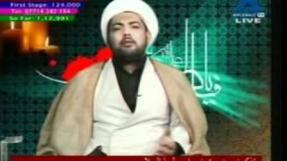 URDU Hazrat Fatima (sa) majalis Akhtar Zainabi shahadat majalis 1432 Ahlebait Tv 2011 1432