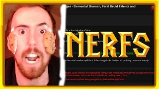 Asmongold reacts to class balance and taunt changes in 8.1 patch