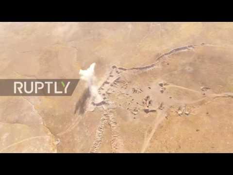Syria: Drone shows clashes as SAA push toward Deir Ezzor