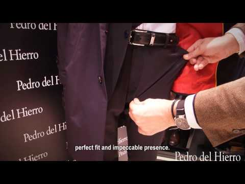 PEDRO DEL HIERRO, PRESENTS OFFICIAL SUIT FOR SPAIN NATIONAL FOOTBALL TEAM