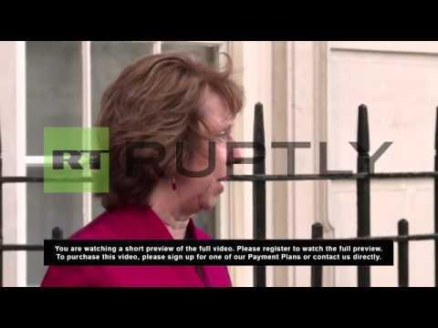 UK: Ashton welcomes Kiev deal, says EU wasn