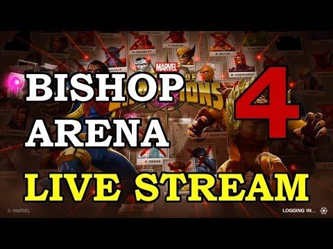 Bishop Arena - Part 4 | Marvel Contest of Champions Live Stream