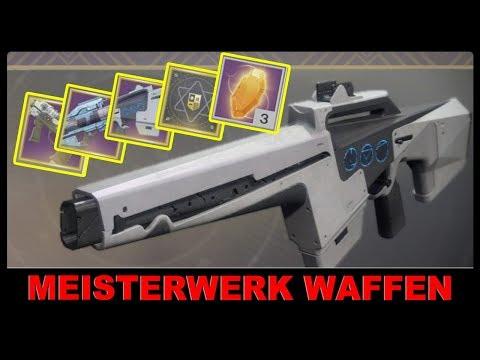 Meisterwerk Waffen erklärt ► Destiny 2