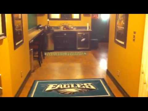 Philadelphia Eagles Fan Cave Youtube