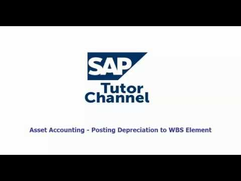 Asset Accounting Posting Depreciation to WBS Element