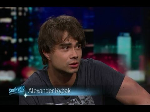 Alexander Rybak in the Norwegian talk show Senkveld 18.09.2015