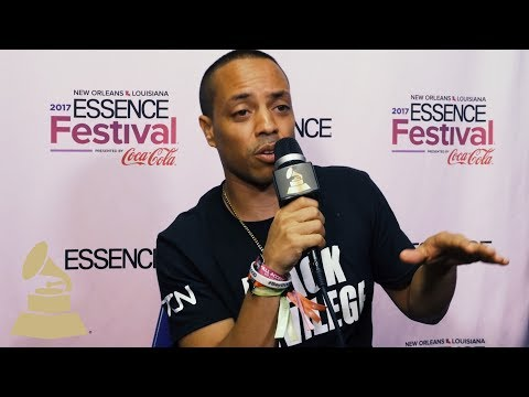 Napoleon da Legend Talks Jazz to Hip-Hop | Essence Festival 2017 | On The Road