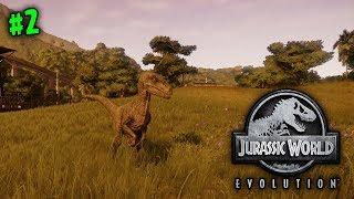 OUR FIRST T-REX! (ISLA TACANO)   JURASSIC WORLD EVOLUTION   #2