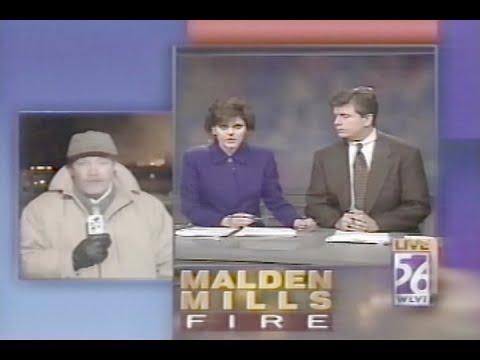 WLVI TV The Ten O'clock News Boston December 12, 1995
