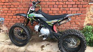 Фото Эндуро выходные на мотобазе!ставим новый мотор Yx 125 на Питбайк!) BSE Z1