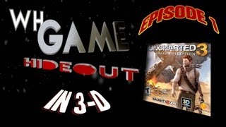WH Game Hideout - 1 - Uncharted 3 in 3D, Mecho Wars, A Space Shooter for 2 Bucks