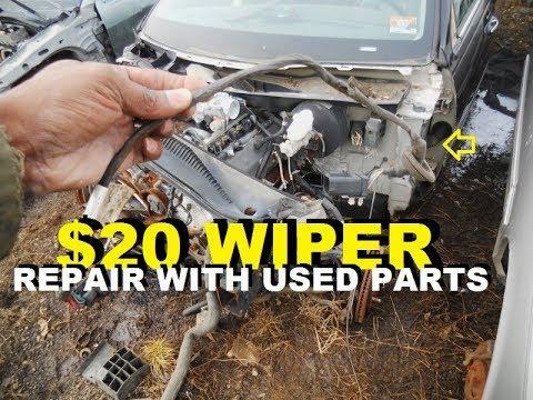 lincoln towncar wiper repair $20 fix