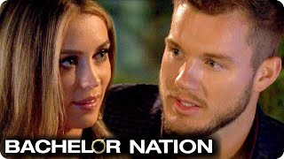 Colton Shocks Caitlin With Surprise Exit | The Bachelor US