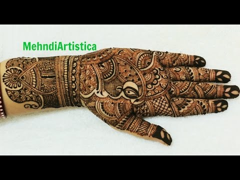 Full Hand Mehndi Designs For Karwa Chauth|Beautiful Indian Traditional Mehendi By MehndiArtistica