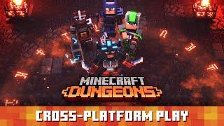 Minecraft Dungeons: Cross-platform Play Trailer