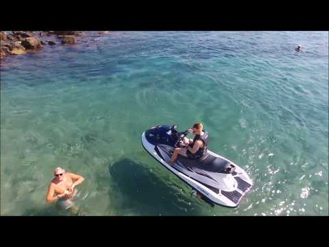 North Cyprus Jet ski via Parrot Drone Bebop 2 Power