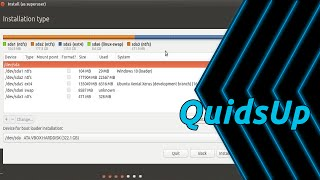 How to use Partiton Editor in Ubuntu Installer