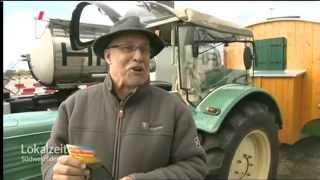 Lokalzeit Südwestfalen Traktorfahrer vom Nordkap zurück