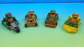 T-SPRINTS TEENAGE MUTANT NINJA TURTLES VIDEO TOY REVIEW (TMNT)