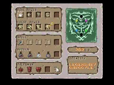 Demon's Crest (SNES) Longplay 100%, all endings