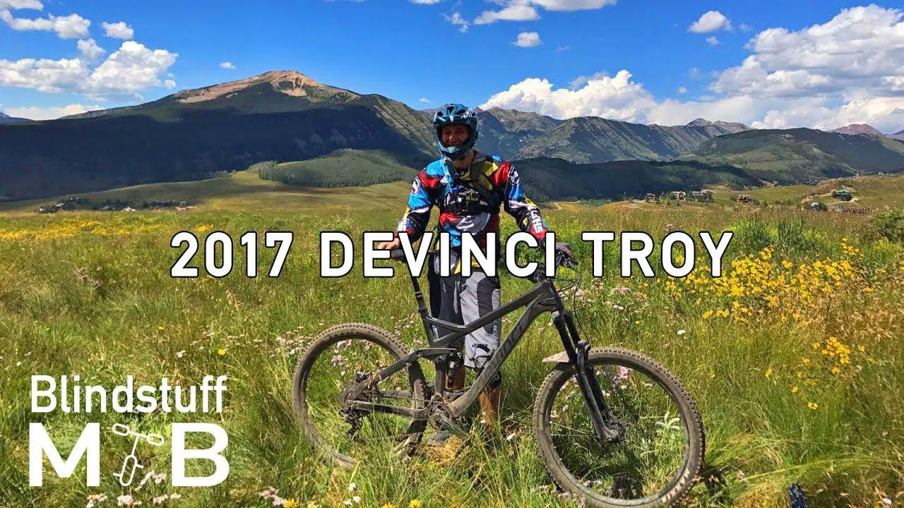 7788cff380b 2017 Devinci Troy Test Ride   Review