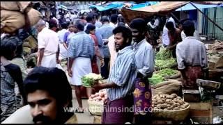 Vegetable Market, Trivandrum